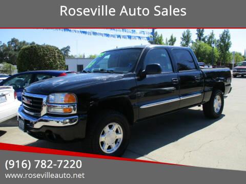 2004 GMC Sierra 1500 for sale at Roseville Auto Sales 131 in Roseville CA