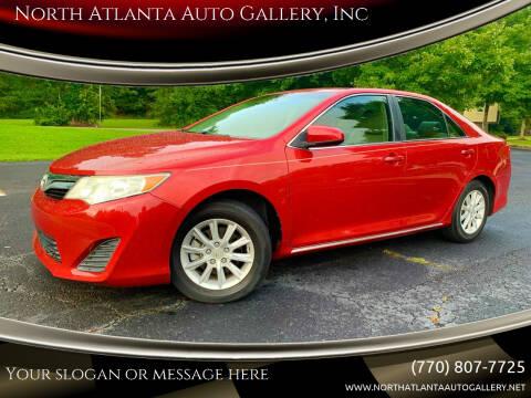 2012 Toyota Camry for sale at North Atlanta Auto Gallery, Inc in Alpharetta GA