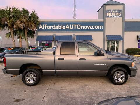 2005 Dodge Ram Pickup 1500 for sale at Affordable Autos in Houma LA