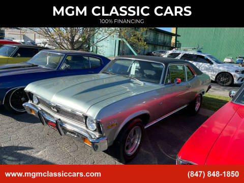1971 Chevrolet Nova for sale at MGM CLASSIC CARS in Addison, IL