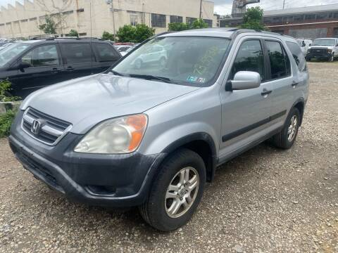 2002 Honda CR-V for sale at Philadelphia Public Auto Auction in Philadelphia PA
