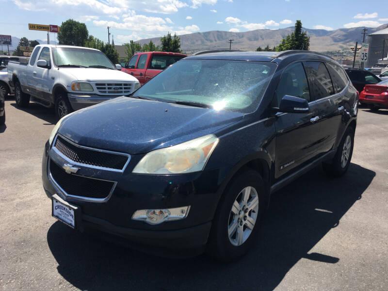 2009 Chevrolet Traverse for sale at Creekside Auto Sales in Pocatello ID