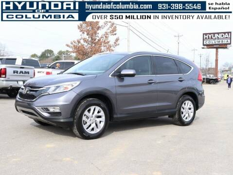 2016 Honda CR-V for sale at Hyundai of Columbia Con Alvaro in Columbia TN