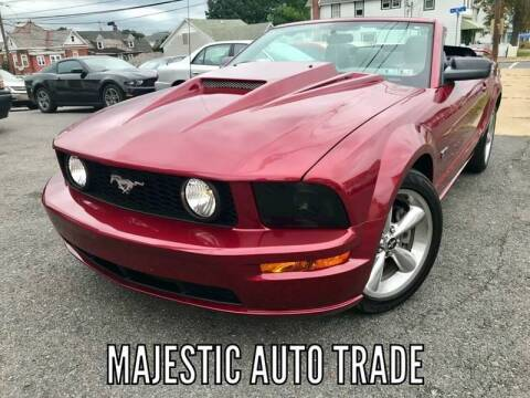 2007 Ford Mustang for sale at Majestic Auto Trade in Easton PA