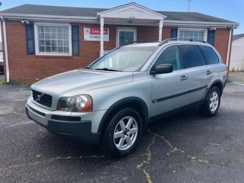 2004 Volvo XC90 for sale at Carland Auto Sales INC. in Portsmouth VA