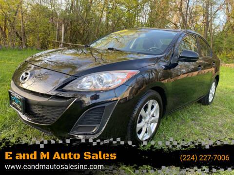 2011 Mazda MAZDA3 for sale at E and M Auto Sales in Elgin IL