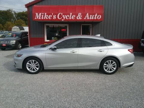 2016 Chevrolet Malibu for sale at MIKE'S CYCLE & AUTO in Connersville IN