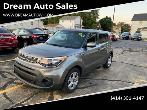 2018 Kia Soul for sale at Dream Auto Sales in South Milwaukee WI