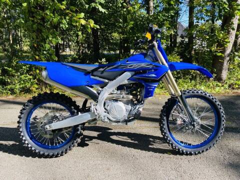 2021 Yamaha YZ450F for sale at Street Track n Trail in Conneaut Lake PA
