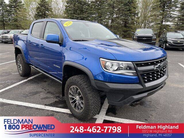 2019 Chevrolet Colorado for sale in Highland, MI
