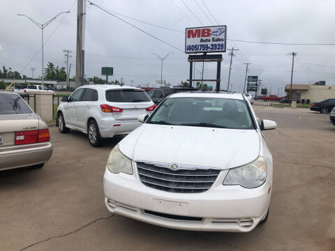 2007 Chrysler Sebring for sale at MB Auto Sales in Oklahoma City OK