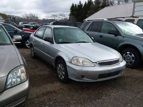 2000 Honda Civic for sale at Affordable 4 All Auto Sales in Elk River MN