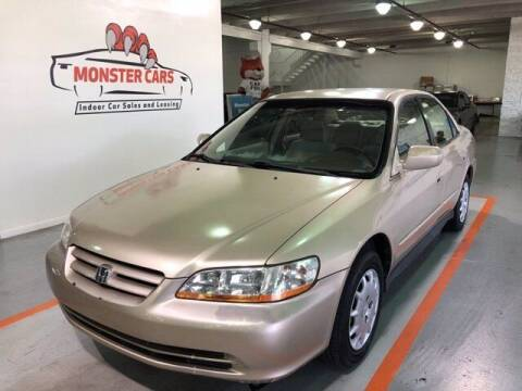 2002 Honda Accord for sale at Monster Cars in Pompano Beach FL
