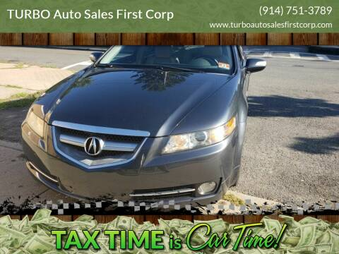 2007 Acura TL for sale at TURBO Auto Sales First Corp in Yonkers NY
