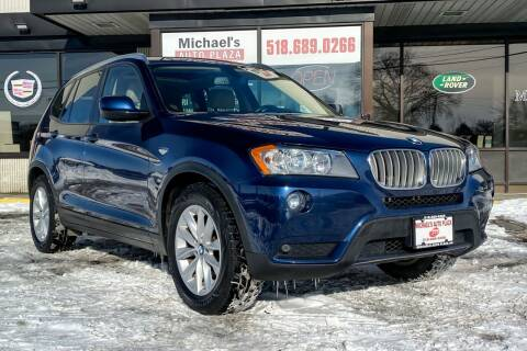 2013 BMW X3 for sale at Michaels Auto Plaza in East Greenbush NY