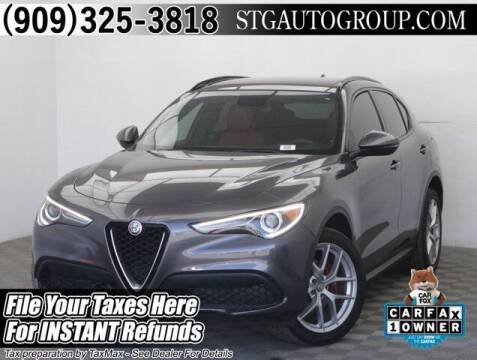 2019 Alfa Romeo Stelvio for sale at STG Auto Group in Montclair CA