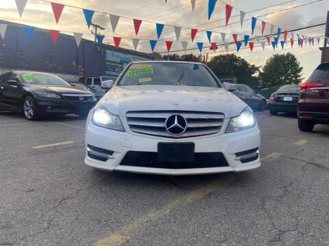 2013 Mercedes-Benz C-Class for sale at Metro Auto Sales in Lawrence MA