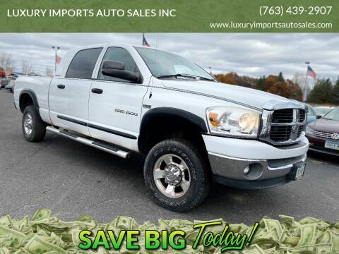 2007 Dodge Ram Pickup 1500 for sale at LUXURY IMPORTS AUTO SALES INC in North Branch MN