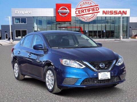 2017 Nissan Sentra for sale at EMPIRE LAKEWOOD NISSAN in Lakewood CO
