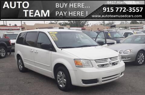 2008 Dodge Grand Caravan for sale at AUTO TEAM in El Paso TX