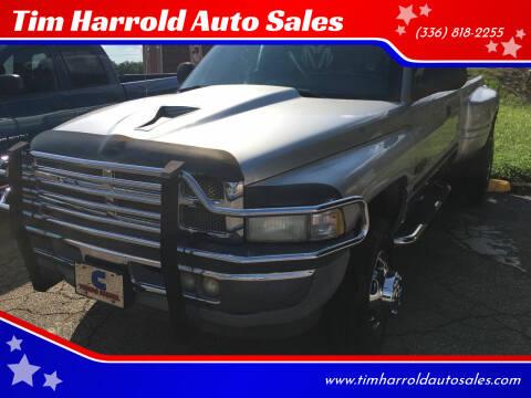 2001 Dodge Ram Pickup 3500 for sale at Tim Harrold Auto Sales in Wilkesboro NC