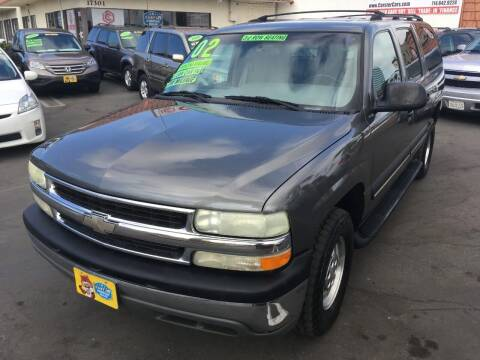 2002 Chevrolet Suburban for sale at CARSTER in Huntington Beach CA