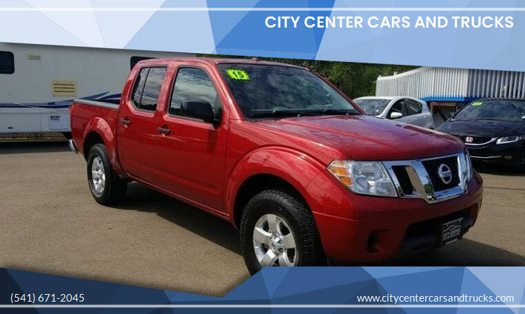 2015 Nissan Frontier for sale at City Center Cars and Trucks in Roseburg OR