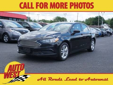 2018 Ford Fusion for sale at Autowest Allegan in Allegan MI