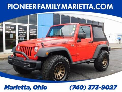 2017 Jeep Wrangler for sale at Pioneer Family preowned autos in Williamstown WV