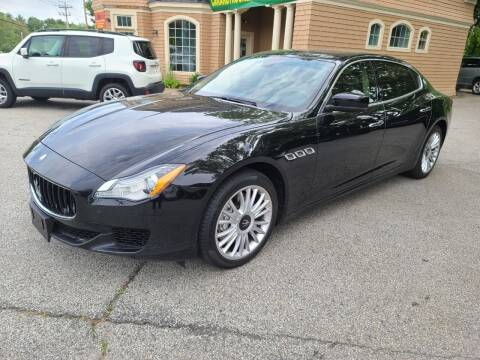 2014 Maserati Quattroporte for sale at Car and Truck Exchange, Inc. in Rowley MA