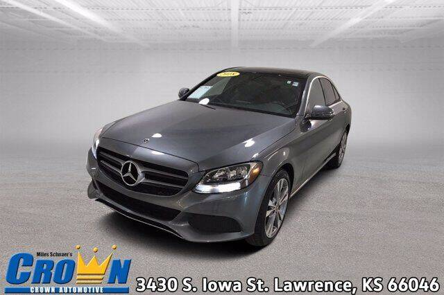 2018 Mercedes-Benz C-Class for sale at Crown Automotive of Lawrence Kansas in Lawrence KS