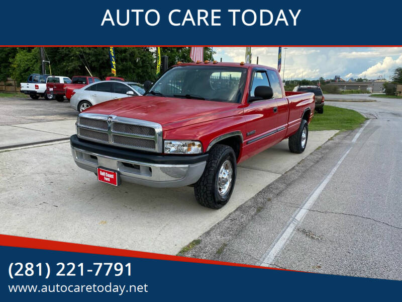 2001 Dodge Ram Pickup 2500 for sale at AUTO CARE TODAY in Spring TX
