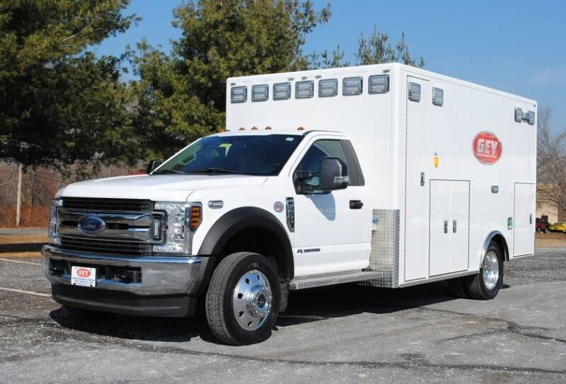 2019 Ford F-450 Super Duty for sale at Global Emergency Vehicles Inc in Levittown PA
