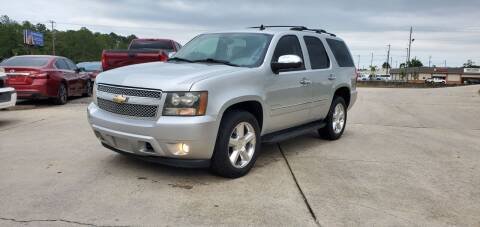 2010 Chevrolet Tahoe for sale at WHOLESALE AUTO GROUP in Mobile AL