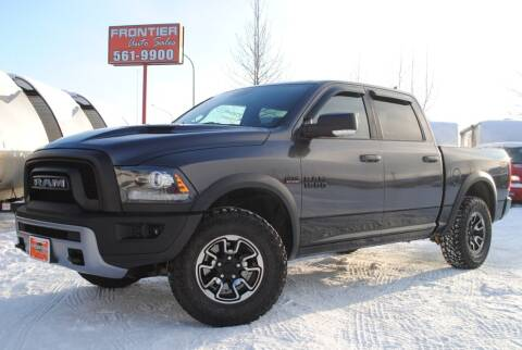 2016 RAM Ram Pickup 1500 for sale at Frontier Auto & RV Sales in Anchorage AK
