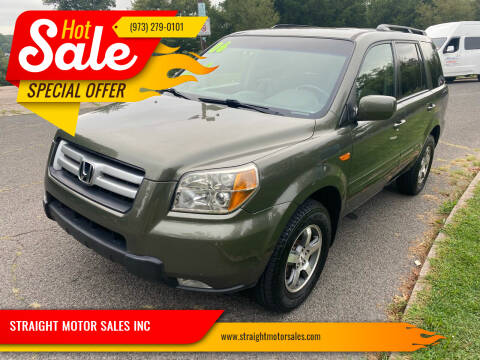 2006 Honda Pilot for sale at STRAIGHT MOTOR SALES INC in Paterson NJ