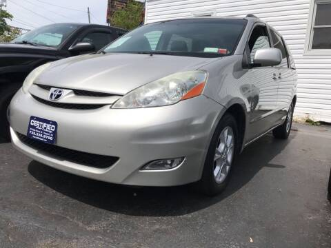 2006 Toyota Sienna for sale at Certified Auto Exchange in Keyport NJ