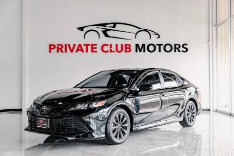 2020 Toyota Camry for sale at Private Club Motors in Houston TX