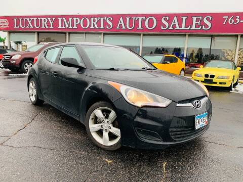 2012 Hyundai Veloster for sale at LUXURY IMPORTS AUTO SALES INC in North Branch MN