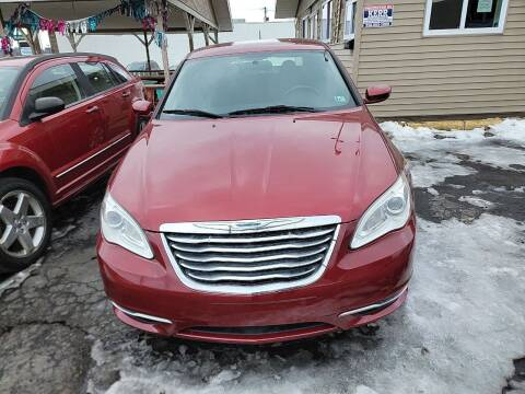 2012 Chrysler 200 for sale at JORDAN AUTO SALES in Youngstown OH