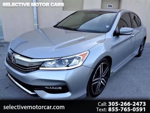 2017 Honda Accord for sale at Selective Motor Cars in Miami FL