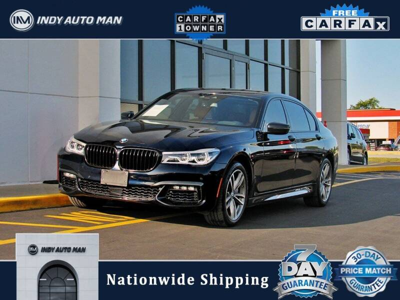 2018 BMW 7 Series for sale at INDY AUTO MAN in Indianapolis IN