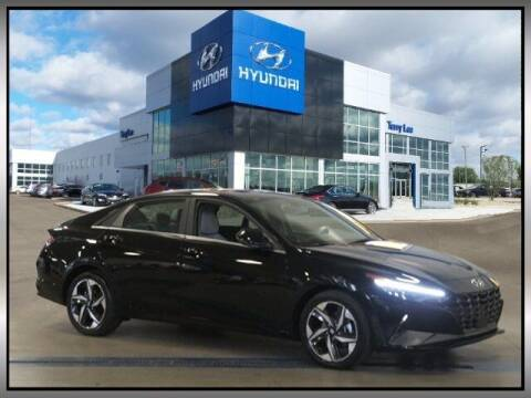 2021 Hyundai Elantra Hybrid for sale at Terry Lee Hyundai in Noblesville IN