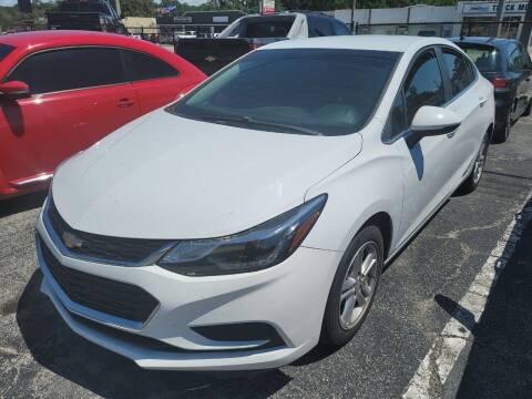 2017 Chevrolet Cruze for sale at Castle Used Cars in Jacksonville FL