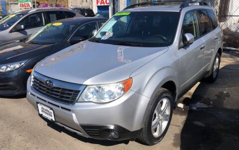 2010 Subaru Forester for sale at DEALS ON WHEELS in Newark NJ