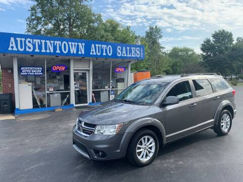 2013 Dodge Journey for sale at Austintown Auto Sales LLC in Austintown OH