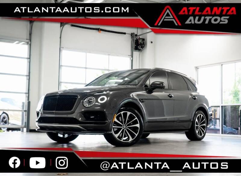 2018 Bentley Bentayga for sale in Marietta, GA