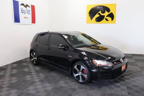 2017 Volkswagen Golf GTI for sale at Carousel Auto Group in Iowa City IA