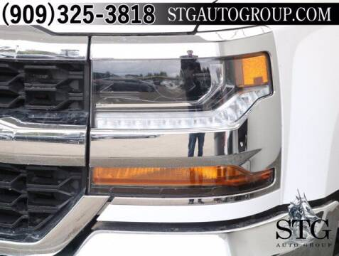2018 Chevrolet Silverado 1500 for sale at STG Auto Group in Montclair CA