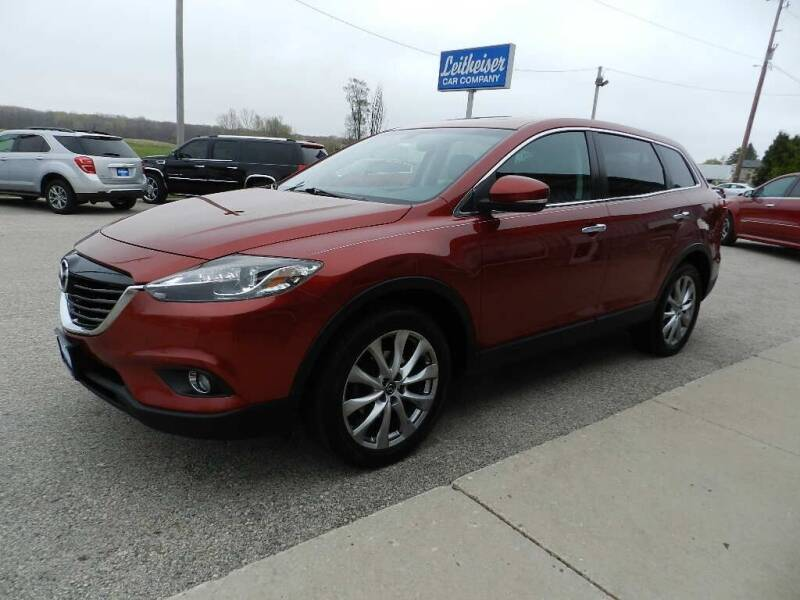 2014 Mazda CX-9 for sale at Leitheiser Car Company in West Bend WI